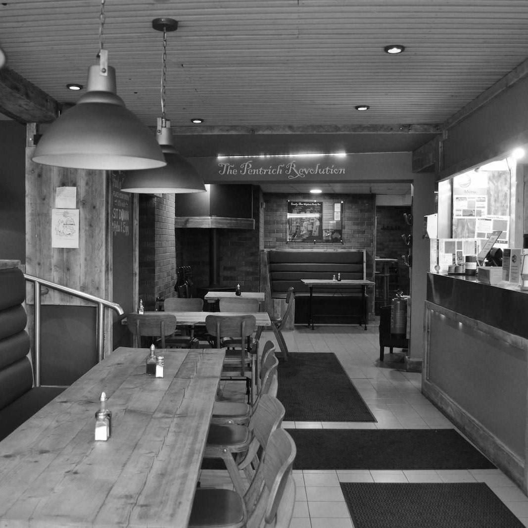 Black and White Ripley's Interior